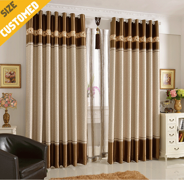 Aliexpresscom Buy 2015 NEW Curtains Livingroom Window Blackout 85 Sheers 55W X