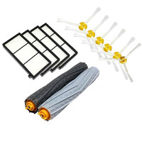 Seed Tangle Free Debris Extractor Kit Hepa Filter Side Brush Replacement For IRobot Roomba 800 900