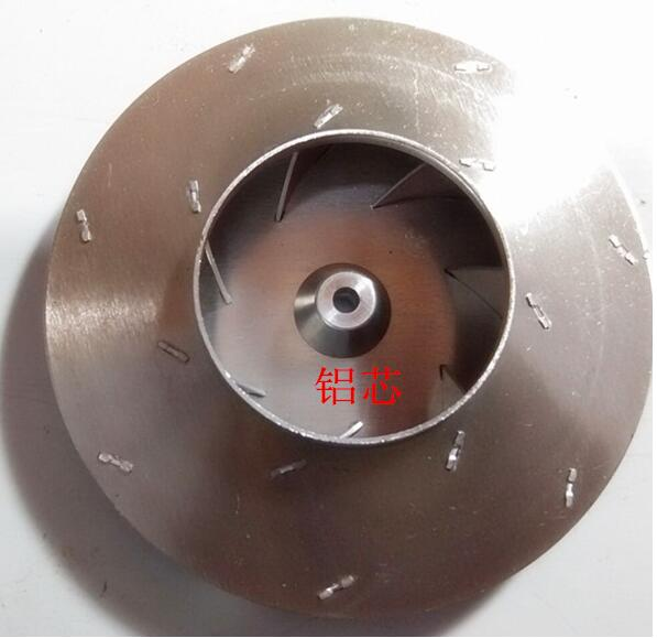Vacuum Cleaner Parts For Motors Aluminum Impeller Fan Blade 71mm