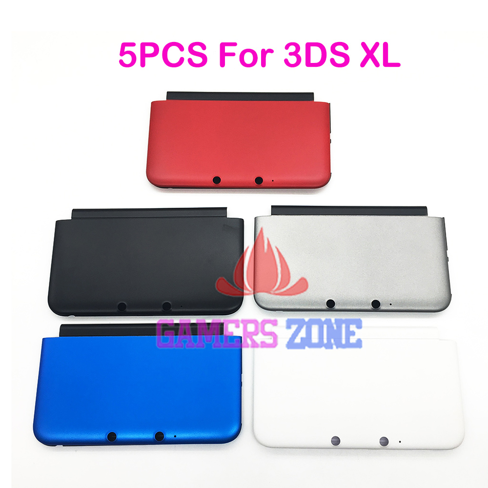 5PCS Top Bottom A & E Faceplate Cover For 3DS XL LL Housing Shell Front Back Case sesibibi 5pcs цвет случайный xl