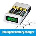 Inteligente Carregador de Bateria Inteligente LCD C905W Display com 4 Slots Para AA/AAA bateria de NiMh NiCd