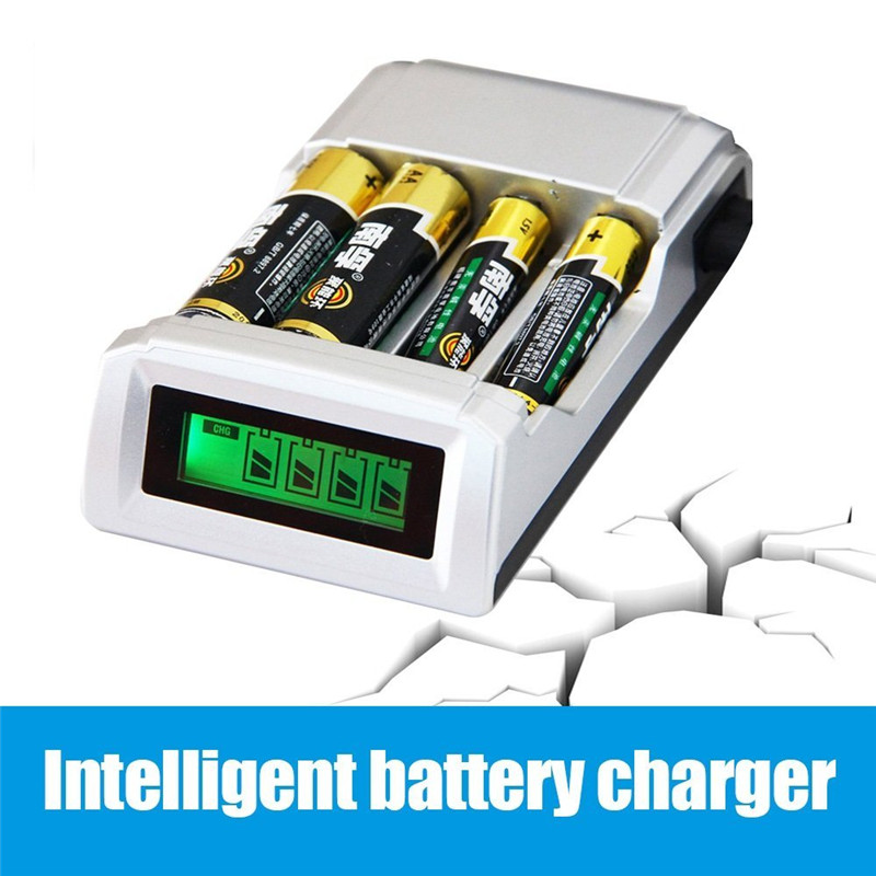 все цены на Smart Intelligent LCD Battery Charger C905W Display with 4 Slots For AA / AAA NiCd NiMh battery