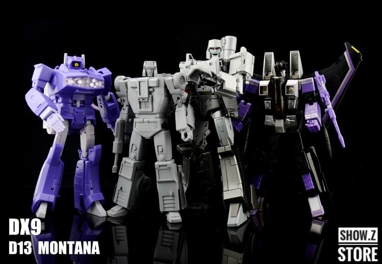 Transformers DX9 toys D13 Montana G1 Menasor Breakdown Action figure New instock