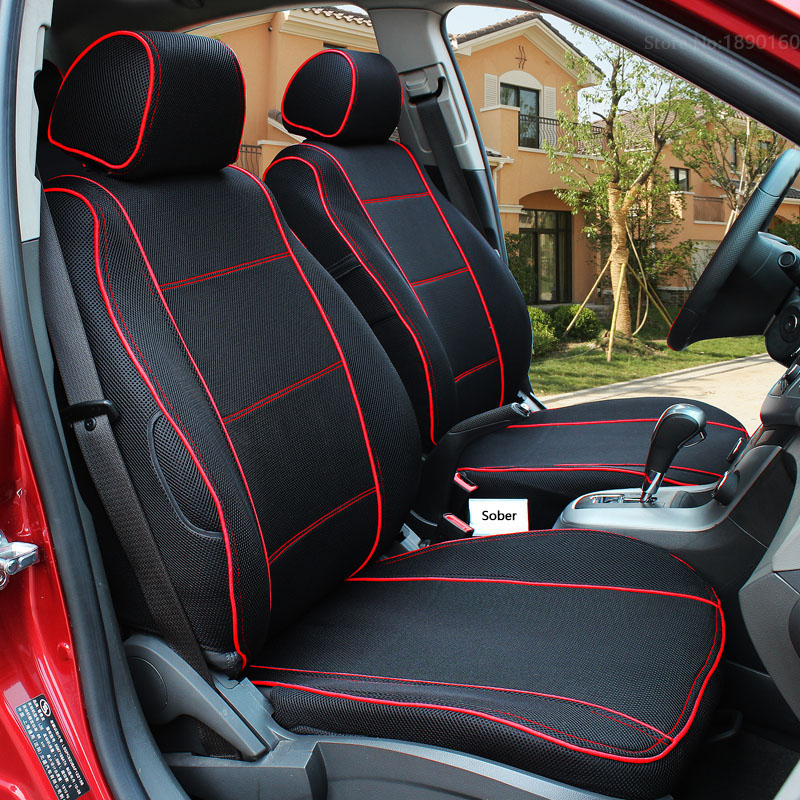 Special Breathable Car Seat Cover for SsangYong Korando Actyon Rexton Chairman Kyron car accessories auto Stickers 3 28 auto wind mesh intake scoop turbo bonnet vent cover hood for ssangyong actyon chairman korando kyron musso nomad rexton tivoli