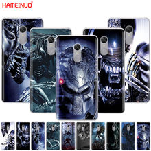HAMEINUO Alien vs Predator Cool Cover telefoon Case voor Xiaomi redmi 5 4 1 1 s 2 3 3 s pro PLUS redmi note 4 4X 4A 5A(China)