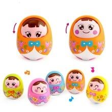 High Quality Baby Toys Brinquedos para Baby Matlyoshka Tumbler Doll Boneca Baby Rattles Gifts Cute Facial Expression No box