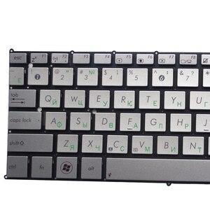 Image 3 - RU جديد ل ASUS UX21 UX21E UX21A لوحة مفاتيح الكمبيوتر المحمول الروسية فضي