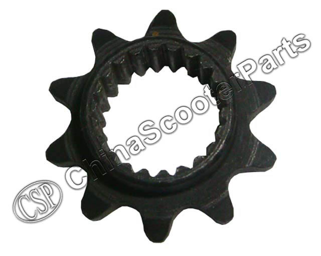 10 Tooth Sprocket Polini GP3 39CC Water Cooled Mini Moto Pocket Bike Parts