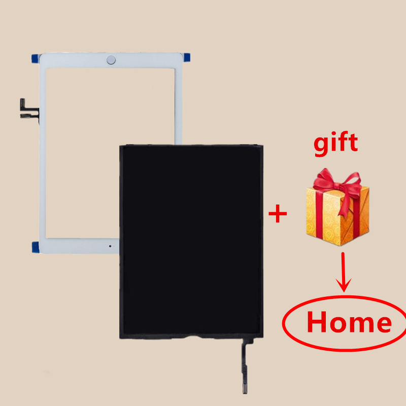A1822 A1823 Touch Screen For IPad 5 5th Generation 2017 A1822 A1823 Digitizer Outer Glass Panel With LCD Display Replacement