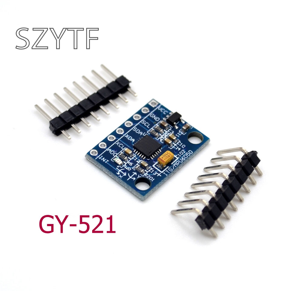 GY-521 MPU-6050 module 3 Axis analog gyro sensors Accelerometer Module free pin