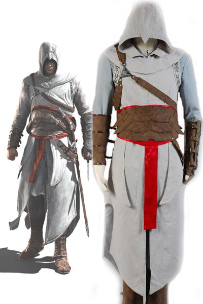 Altair Cosplay Costume For Adult Men Free Shipping