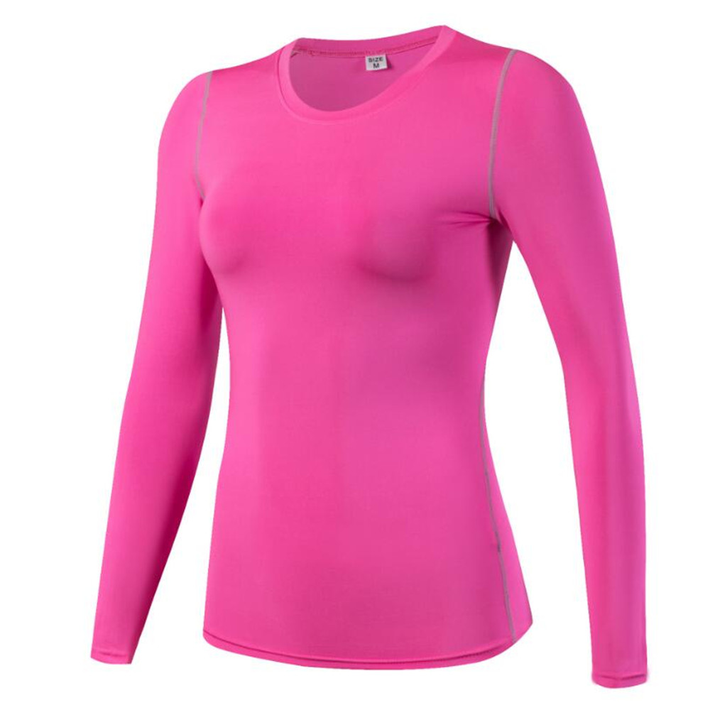 Women Health Gmy Trainning Tight Shirts Movement Physical Exercise T-shirts Yuga Tight Sportswear Breathable Quick Dry Suit