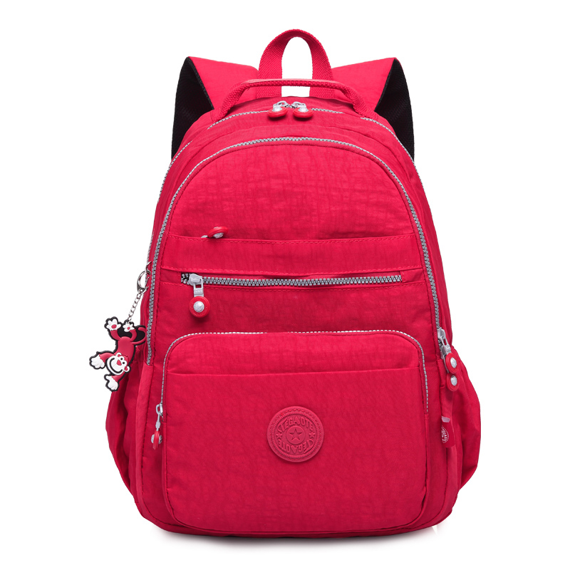 TEGAOTE 学校のバックパック女性 Mochila 女性バックパックバッグナイロン防水カジュアル旅行ラップトップ Bagpack 代の少女  グループ上の スーツケース & バッグ からの バックパック の中 2