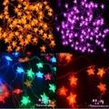 Retail 10M Led string light RGB single color 100led 110V-220V Decoration Light for Christmas Party Wedding Free shipping