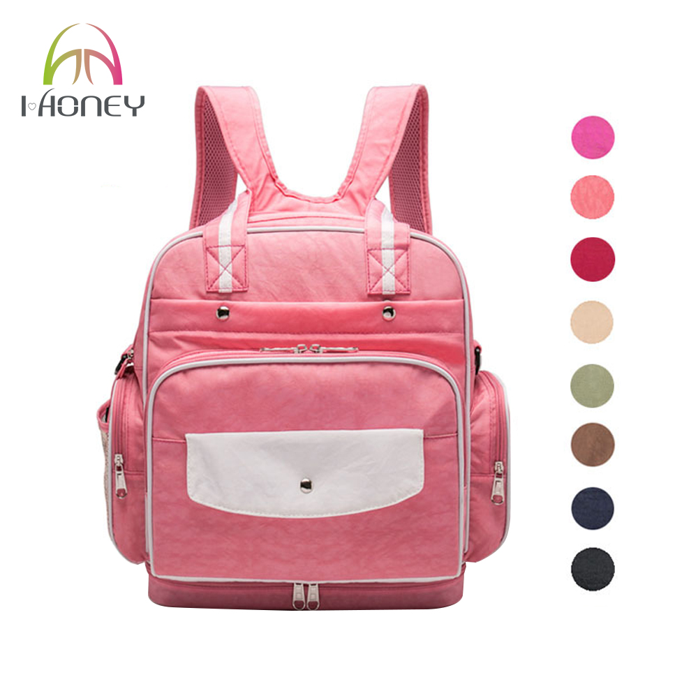 diaper bags designer cheap 56il  IHONEY4U Diaper Bag Designer Brand Baby Nappy Backpack Large Capacity For  Baby Care High Quality Fashion
