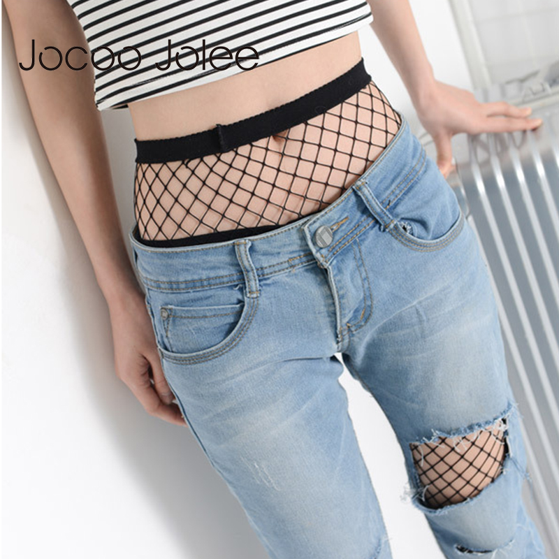 Jocoo Jolee Sexy Hollow Out Pantyhose Female Mesh Black Women Tights Stocking Slim Fishnet Stockings Lady Club Party Hosiery| |   - AliExpress