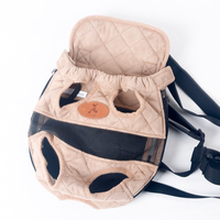 HOOPET Dog carrier fashion red color Travel dog backpack breathable pet bags shoulder pet puppy carrier 5