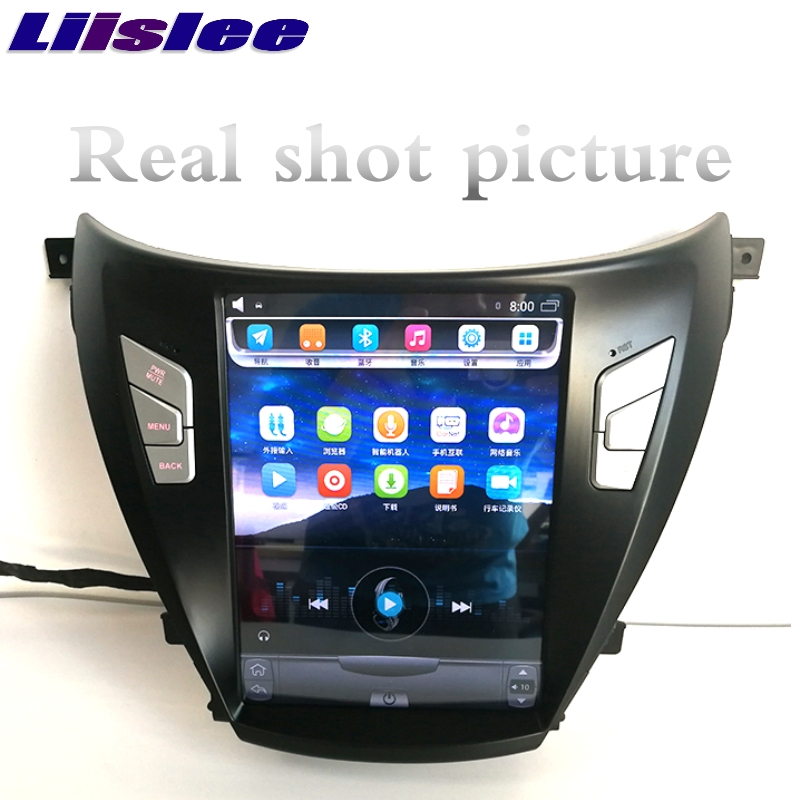 For Hyundai i35 Elantra Avante MD UD 2011~2015 NAVI LiisLee Car Multimedia Player GPS Maps WIFI Audio CarPlay Radio Navigation 3