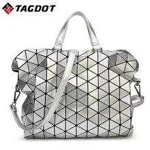 New Brand Design Frauen BAOBAO Tasche Geometrie Paket Pailletten Saser Einfachen Klapp Damen Handtaschen Schulter messenger Bags Mit Logo