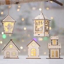 Европейский декоративный дом, Рождественское украшение, подвесные светильники, оконные дверные огни