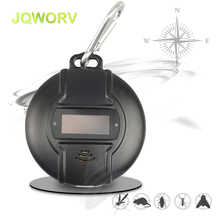Outdoor Portable mosquito repellent Micro Electronic ultrasonic pest repeller Solar or USB Powered Built-in Compass design