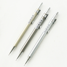 3 Pcs/lot M&G Chenguang Quality 0.5 Mm Aluminum Metal Kids Mechanical Pencils Writing Stationery Office And School Supplies