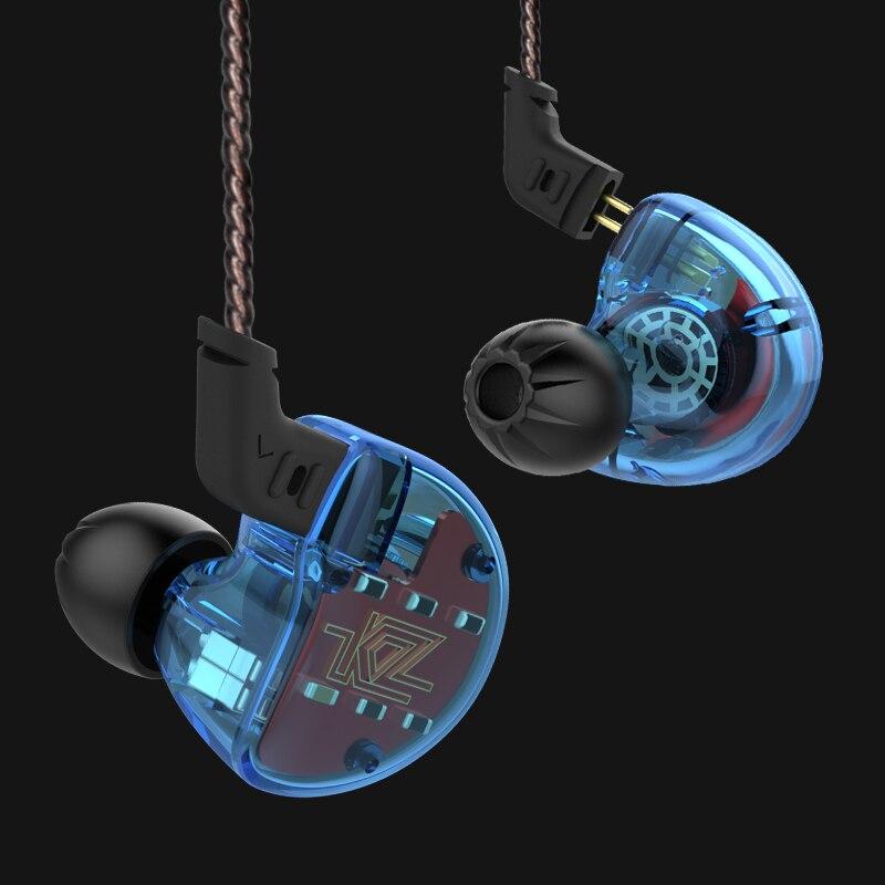NOUVEAU 100% D'origine KZ ZS10 4BA + 1DD 10 Pilotes Écouteurs In-Ear HIFI 3.5 MM Filaire Casque avec Mic Sport DJ stéréo Pour iphone/Xiaomi