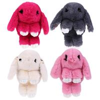Cute Kawaii Soft Plush Cartoon Rabbit Kids Backpack School Bag Children Kindergarten Baby Girl Shoulder Chain