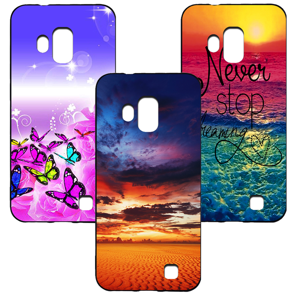 Colored drawing Cartoon Fundas For <font><b>HomTom</b></font> <font><b>S16</b></font> Soft Silicone Cover <font><b>Case</b></font> For omTom <font><b>S16</b></font> Printed Phone Cover image