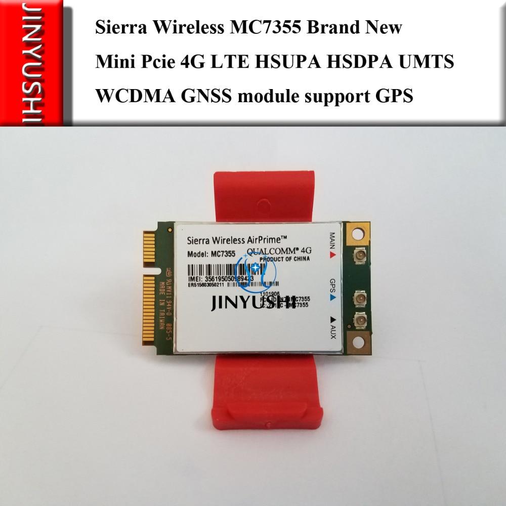 JINYUSHI For  MC7355 PCI-E 4G LTE HSUPA HSDPA UMTS WCDMA  GNSS module support GPS 100% NEW&Original   stock 1PCS Free Shipping