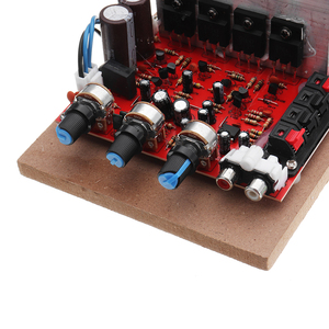 Image 4 - LEORY 200W 220V High Power Amplifier Field Effect Transistor Front Back  Hi Fi Power Amplifier Borod with Fan Cooling Syste