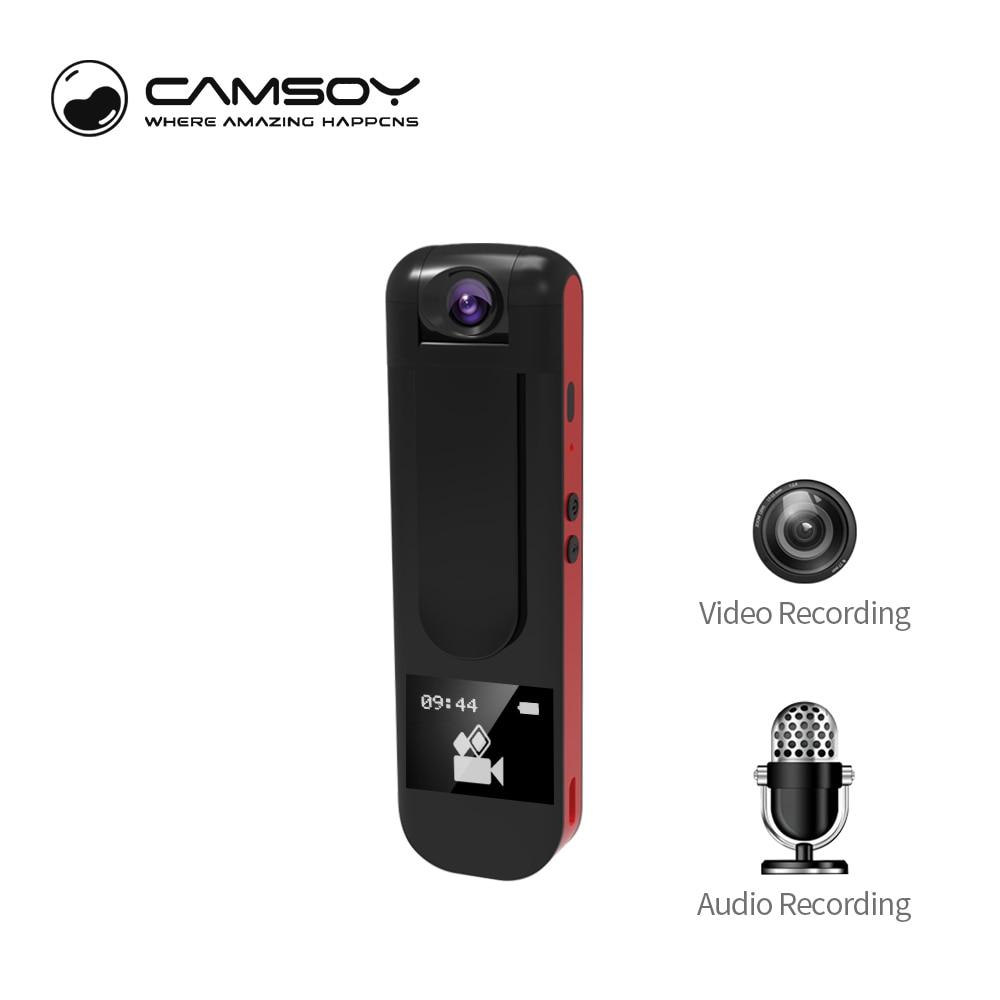 Camsoy 009 Full HD1080P 720P DVR Pen Mini Camera With MP3 Music Display Screen Home Security AVI Cam Wifi Security Camera