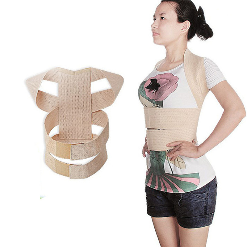 Slouching Posture Corrector Back Braces Body Shaper Belt Shoulder Posture Correction Ladies' Shoulder Squared Head High T069OLC