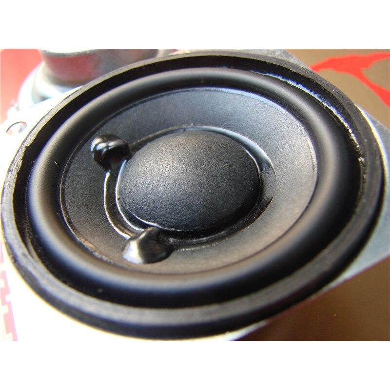 2PCS New 8 ohms 3W 2 inch Total Width 57mm DIY Audio Neodymium Full Range Bookshelf Speaker