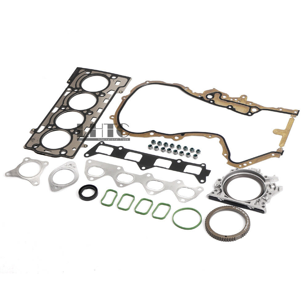 100% Brand New Engine Gaskets Seals Repair Overhaul Kit For V W Golf Je tta Passat <font><b>Tiguan</b></font> <font><b>1.4</b></font> <font><b>TSI</b></font> 03C103383AE image