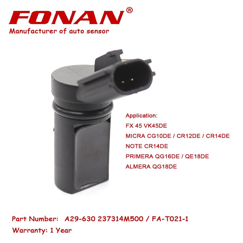US $11 89 |PC462 23731 4M500 Crankshaft Camshaft Position Sensor For  INFINITI NISSAN PRIMERA ALMERA MARCH MICRA WINGROAD SUNNY EXPERT NOTE-in