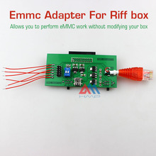 2016 new Perform eMMC work without modifying your box EMMC Adapter for Riff BOX jtag software repair tools