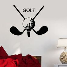 Vinyl Wall Decal Golf Club Sport Logo Sticker Putter New Design Art Mural Home Living Room Wallpaper AY1003