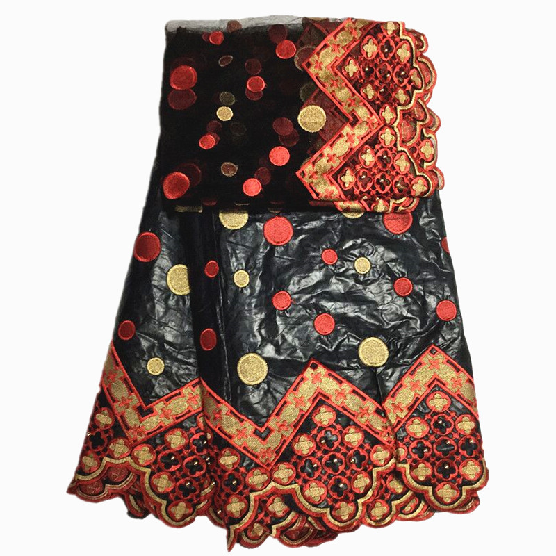 african fabric high quality 2019 bazin riche getzner with Embroidered lace beaded african bazin lace for women-in Lace from Home & Garden    1
