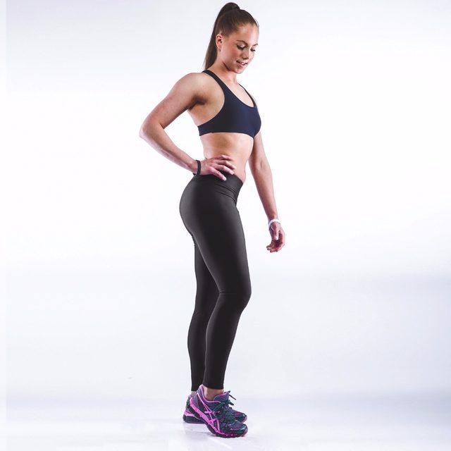 jogging Sexy girl