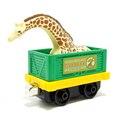 M011 Дефицит Издание литья под давлением магнитного Томас и друг сплава sodor животных жираф выставку жираф транспортные тележки