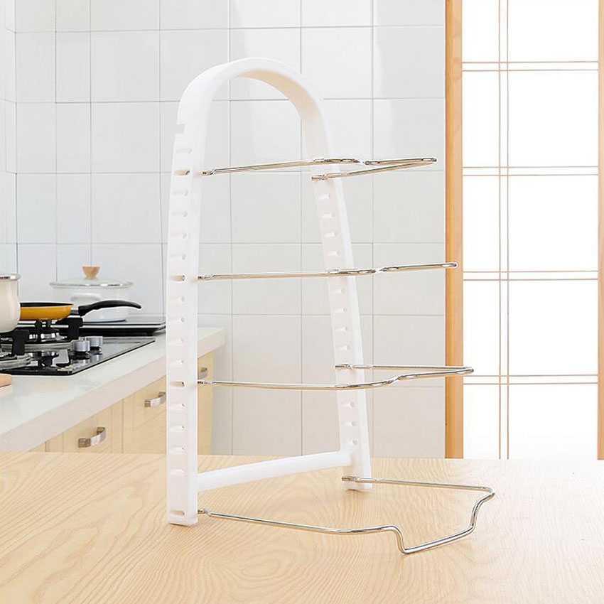 HUIYI HOME Küche Regale Mehrzweck Topf Pfanne Kochgeschirr Deckel ...