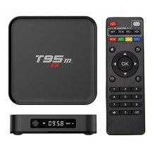 T95M Android 6.0 Tv Box 2 GB RAM 8 GB ROM incorporada de 2.4G S905X WiFi Amlogic Quad Core KODI 17.1 Bluetooth 4 K Reproductor Multimedia Inteligente