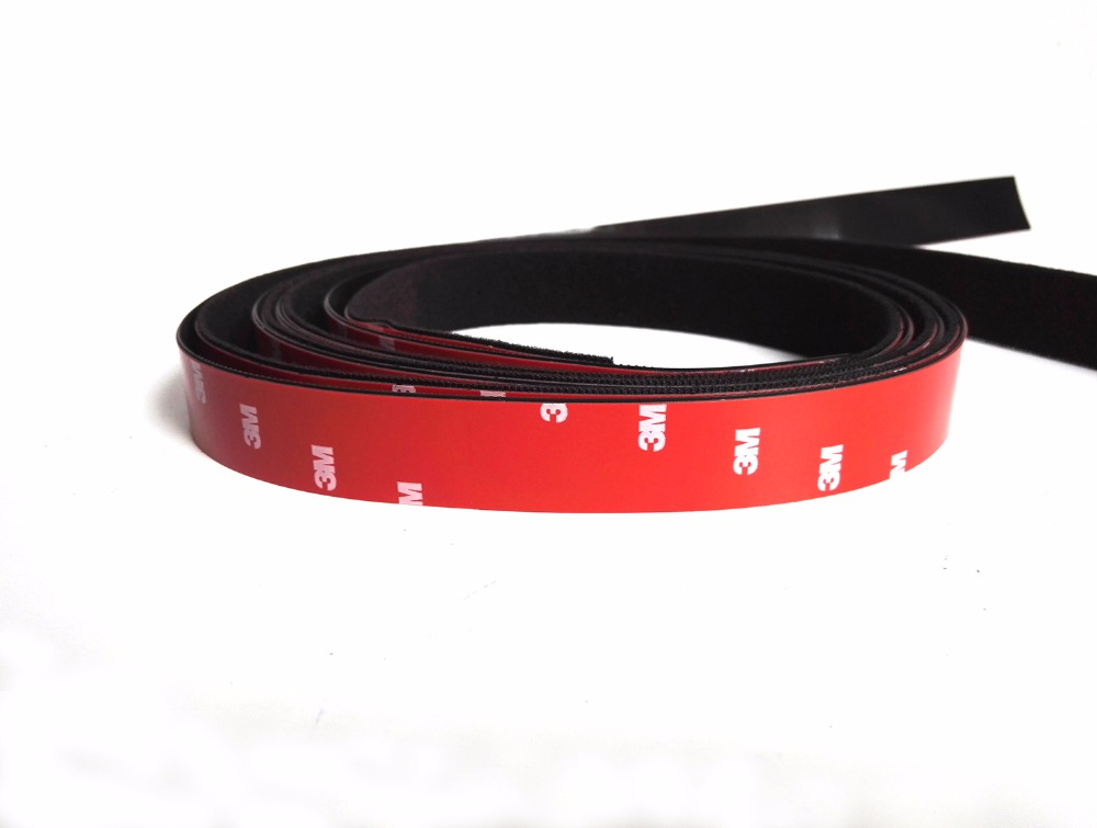 1 Pair With High Bond 4229P Double Sided Adhesive Velcro Tape Magic Hook Band For Home