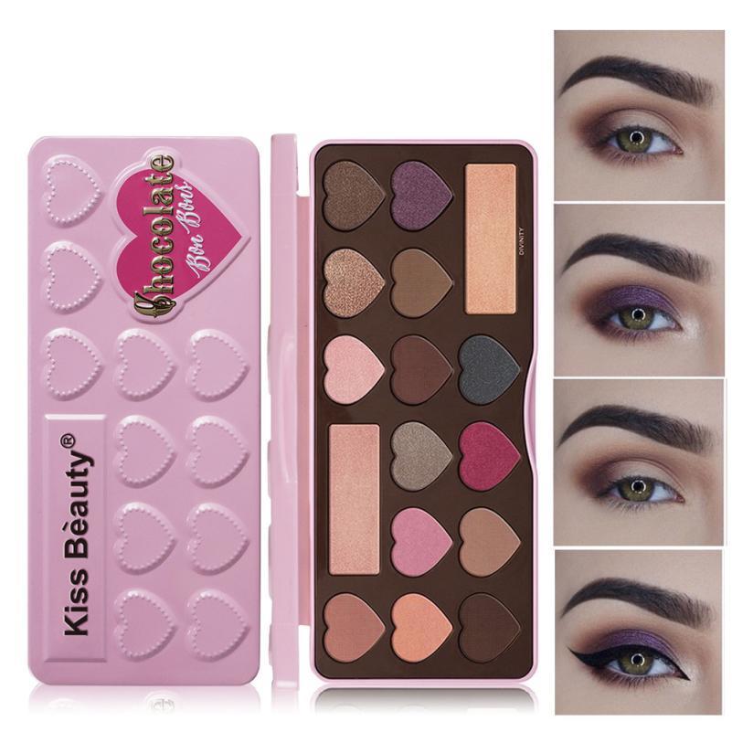 ISHOWTIENDA 16 Colors Women Makeup Eye Shadow