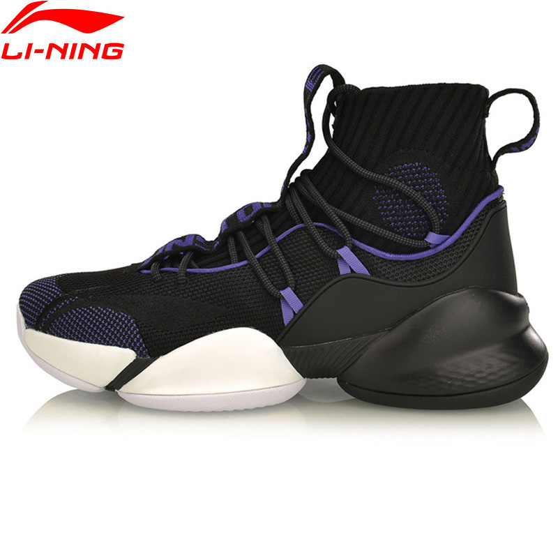 Li-Ning Men POWER V PLAYOFF Professional Basketball Shoes Cushion Bounce LiNing CLOUD Sport Shoes Sneakers ABAP023 XYL224