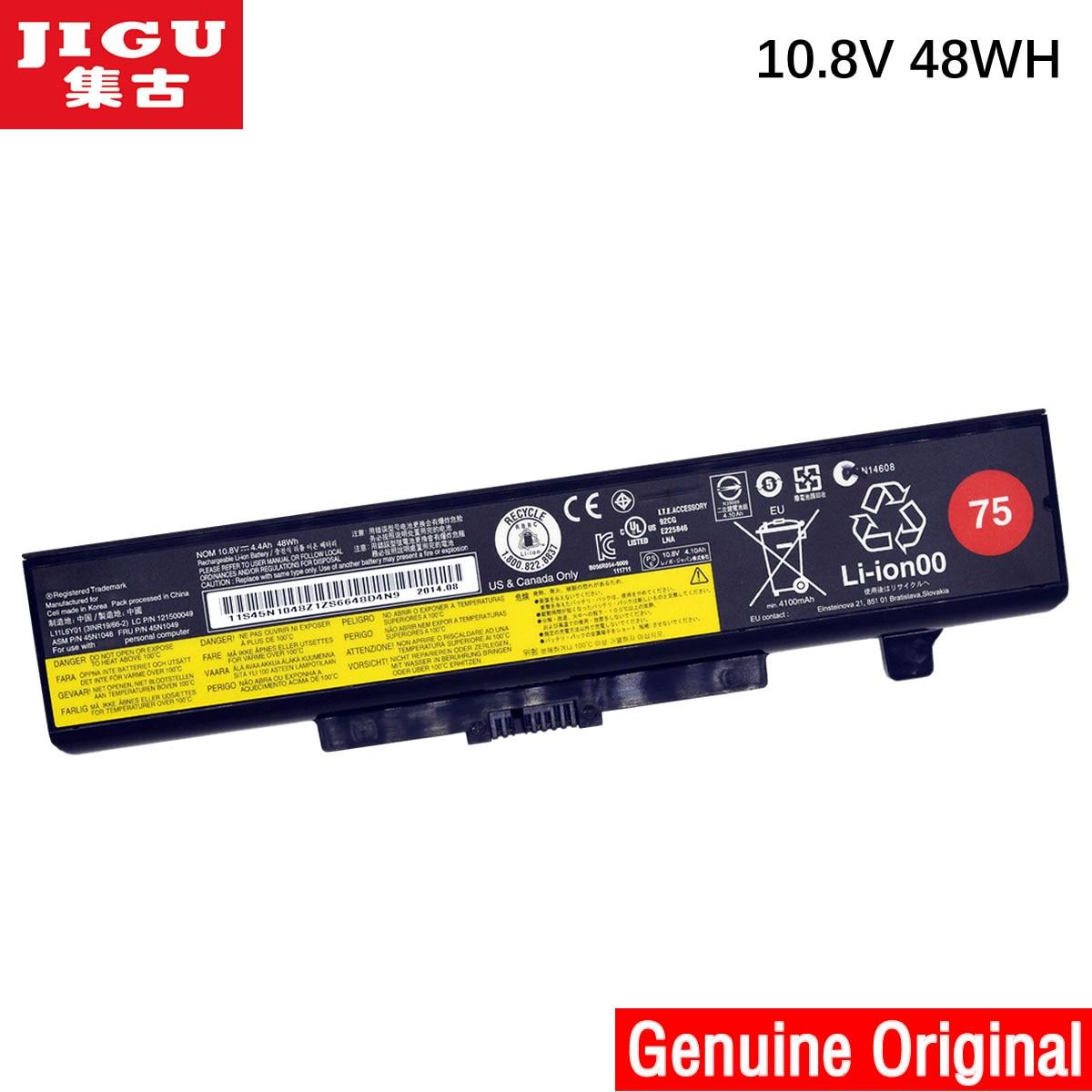 JIGU Original Laptop Battery For Lenovo G480 G485 G500 G510 G580 G585 G700 G710 K49A M490 M495 N581 N586 V480 V480C
