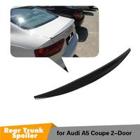 For A5 S5 gloss black Rear Spoiler Wing for Audi S5 2Door 2008~2015