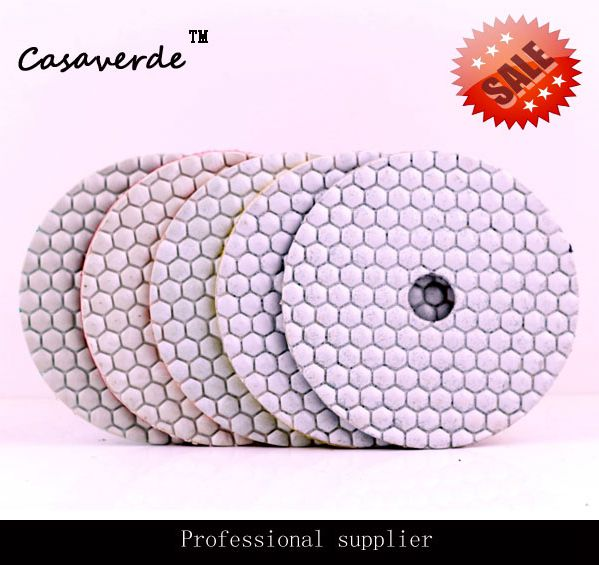 DC AWHPP03 5 inch 125mm diamond dry polishing pads granite diamond dry polishing pads dry polishing