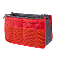 Makeup Bag Cosmetic Case Storage Fashion Beautiful Cosmetic Bag For Make Up  Insert Handbag Organiser Liner Tidy K520